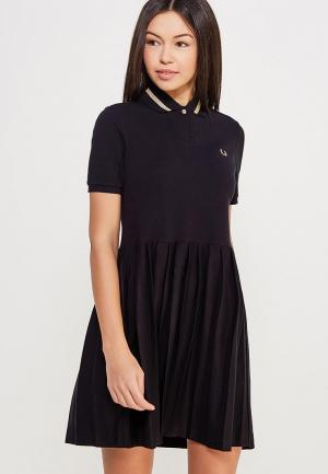 Платье Fred Perry. Цвет: черный