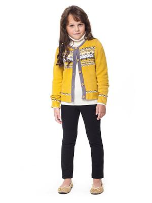 Жакет VILATTE. Цвет: белый, желтый, серый