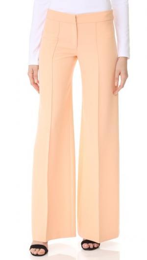 Расклешенные брюки Cady Milly. Цвет: персиковый