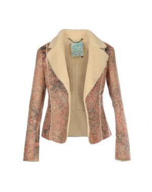 Пиджак MANILA GRACE. Цвет: песочный
