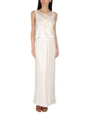 Пляжное платье SAHA. Цвет: слоновая кость
