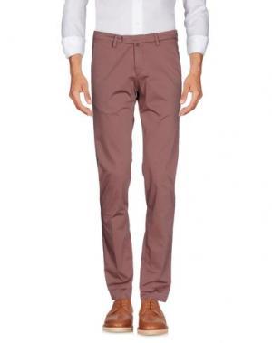 Повседневные брюки BRIGLIA 1949. Цвет: пастельно-розовый