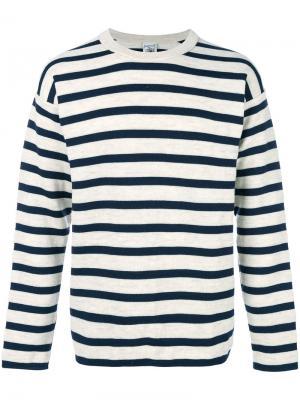 Полосатый свитер S.N.S. Herning. Цвет: телесный