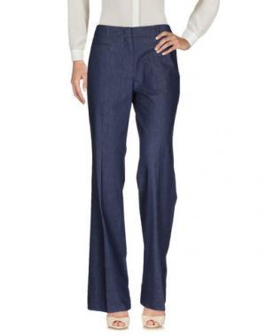 Повседневные брюки LAURÈL. Цвет: синий