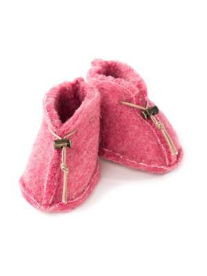 Пинетки ALWERO. Цвет: розовый