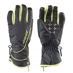 Перчатки сноубордические женские  Seefeld.zx Da 23 Schwarz Zanier. Цвет: черный,желтый