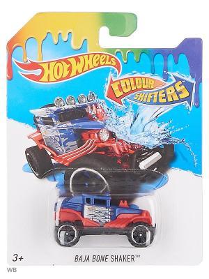Машинка, изменяющая цвет Hot Wheels. Цвет: темно-синий, темно-бордовый