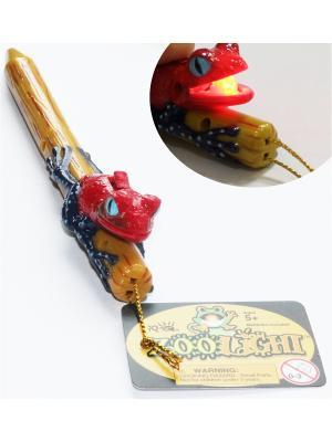 Ручка Лягушка Zoolight. Цвет: коричневый, красный