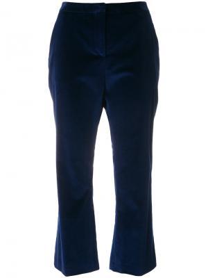 Укороченные расклешенные брюки Altuzarra. Цвет: синий