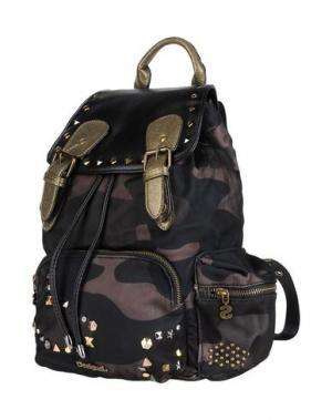 Рюкзаки и сумки на пояс DESIGUAL. Цвет: темно-зеленый