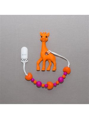 Игрушка-подвеска Краски лета. Цвет: малиновый, оранжевый