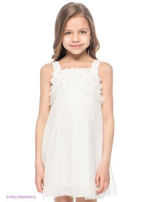Платье Fun. Цвет: кремовый
