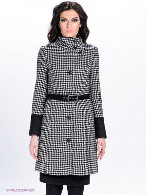 Пальто QUIOSQUE. Цвет: серый, черный