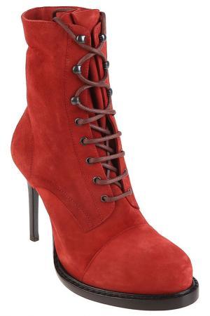 Ботинки Ann Demeulemeester. Цвет: красный