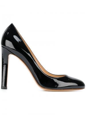 Лакированные туфли Francesco Russo. Цвет: чёрный