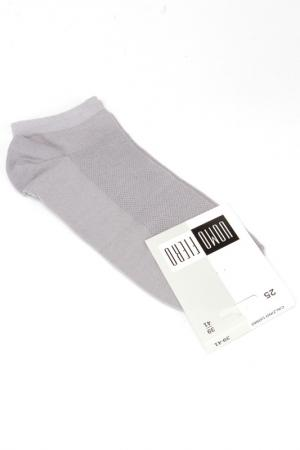 Носки UOMO FIERO. Цвет: серый