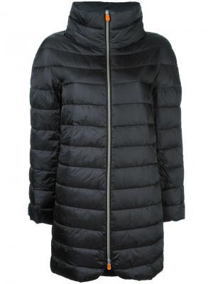 Padded coat Save The Duck. Цвет: чёрный
