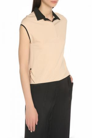 Блузка Manila Grace. Цвет: 74 бежевый
