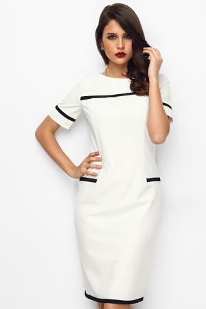 Платье Monica Ricci 55_2401_WHITE_BLACK WHITE AND BLACK