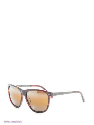 Солнцезащитные очки VL 1314 0003 SX2000 Vuarnet. Цвет: коричневый, рыжий, темно-коричневый
