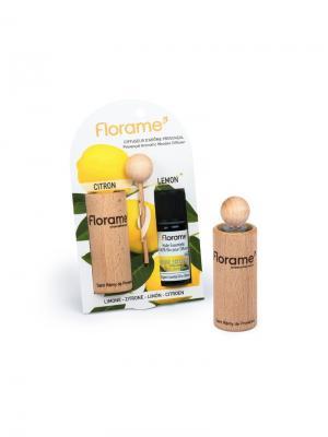 Florame Диффузер Провансальский + Лимон (Цедра). Эфирное Масло (10Мл). Цвет: коричневый, прозрачный
