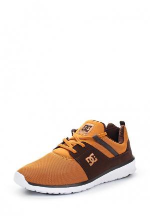 Кроссовки DC Shoes. Цвет: коричневый