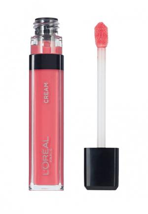 Блеск для губ LOreal Paris L'Oreal. Цвет: розовый