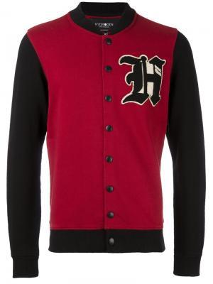Куртка-бомбер Hydrogen. Цвет: красный