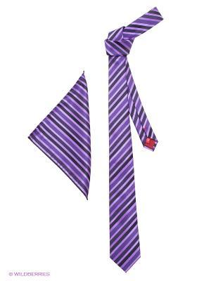 Галстук MONDIGO. Цвет: темно-фиолетовый, фиолетовый