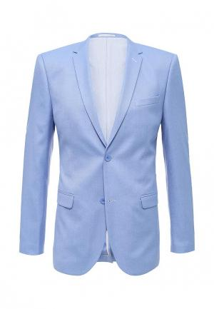 Пиджак Stenser. Цвет: голубой