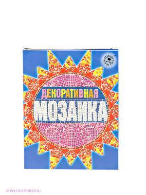 Набор Декоративная мозаика Мини-маэстро. Цвет: синий, красный, оранжевый