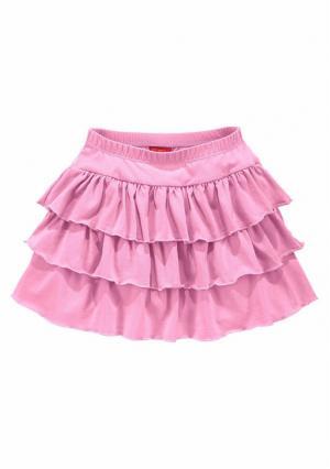 Юбка KIDOKI. Цвет: розовый