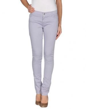 Повседневные брюки ANNIE P.. Цвет: сиреневый