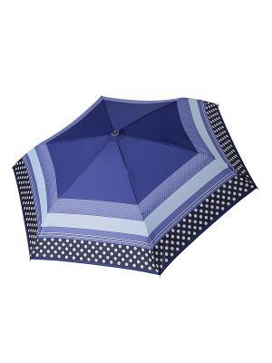 Зонт Fabretti. Цвет: темно-синий