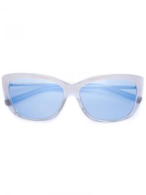 Солнцезащитные очки Jil Sander. Цвет: белый