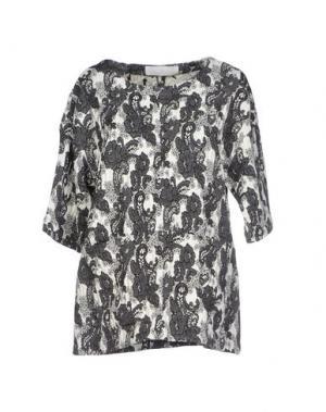 Блузка THAKOON ADDITION. Цвет: слоновая кость