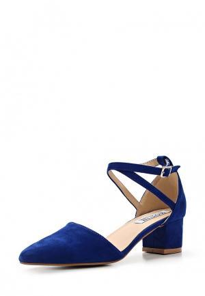 Туфли Martin Pescatore. Цвет: синий