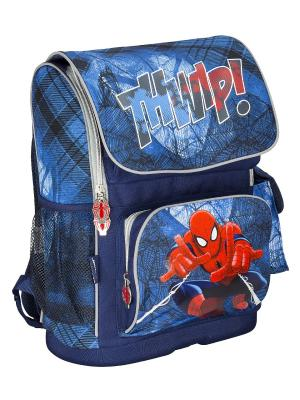 Ранец профилактический с эргономической спинкой.Spider-man Classic Spider-man. Цвет: голубой, красный