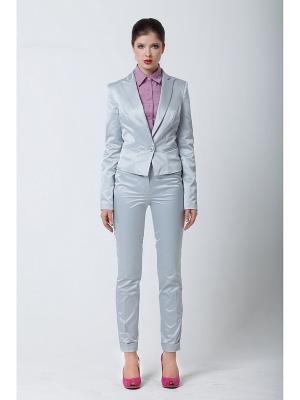 Жакет Quattro. Цвет: серо-голубой