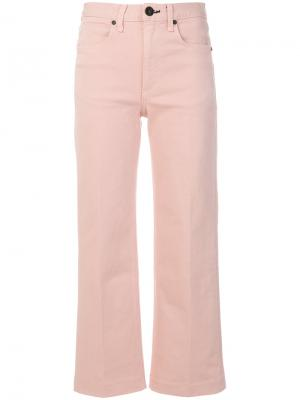 Укороченные брюки Justine Rag & Bone /Jean. Цвет: телесный