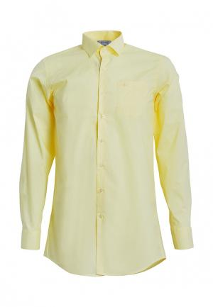 Рубашка Stenser. Цвет: желтый