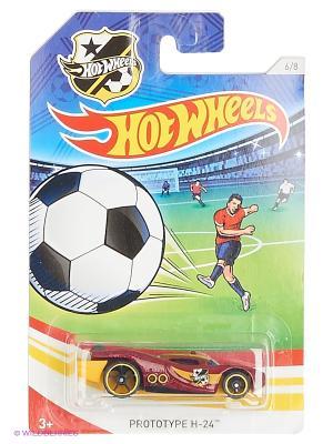 Декорированная серия машинок Кубок УЕФА Hot Wheels. Цвет: бордовый