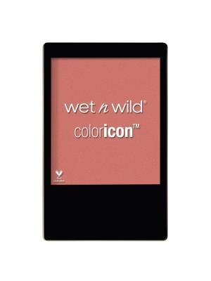 Румяна для лица color icon, E3282 mellow wine Wet n Wild. Цвет: розовый
