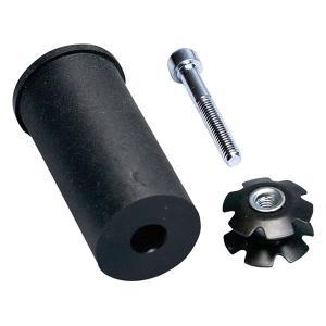 Рулевая  Hic Compression Kit Black Lucky. Цвет: черный
