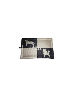 Подстилка Пудель/Гончая DOG LIFESTYLE L 92*59*5 см для собак Happy House. Цвет: черный