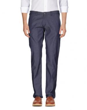 Повседневные брюки 40WEFT. Цвет: синий