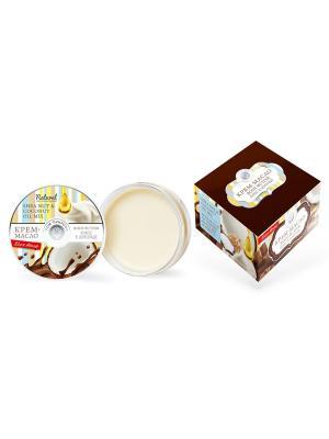 Крем-масло для тела Кокос в шоколаде 150 гр. Мануфактура Дом Природы. Цвет: белый