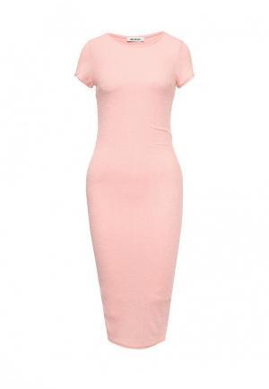Платье SHK Mode. Цвет: розовый