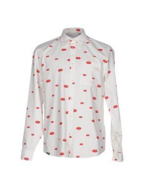 Pубашка WESC. Цвет: белый