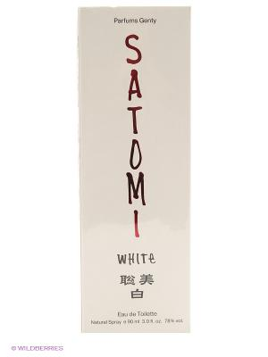 SATOMI WHITE 90 мл PARFUMS GENTY. Цвет: прозрачный